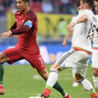 Фрагмент матча «Россия — Португалия»