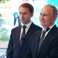 Владимир Путин дал старт работе рыбоперерабатывающего завода на Шикотане