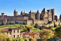 Каркасон: прогулка по средневековой крепости (видео)