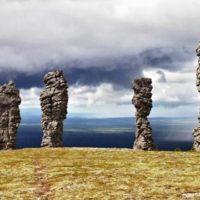 Гора идолов: удивительные столбы выветривания в Республике Коми