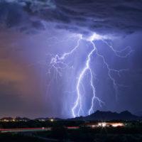 Зафиксирована самая длительная молния в истории наблюдений