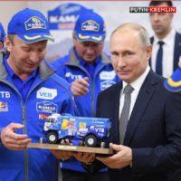 Президент Путин поздравил победителей «Дакара» в зачёте грузовиков